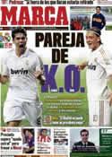 Portada diario Marca del 2 de Octubre de 2011