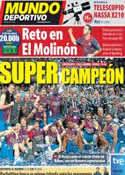 Portada Mundo Deportivo del 2 de Octubre de 2011
