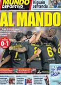 Portada Mundo Deportivo del 3 de Octubre de 2011