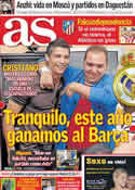 Portada diario AS del 4 de Octubre de 2011