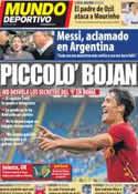 Portada Mundo Deportivo del 5 de Octubre de 2011