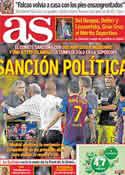 Portada diario AS del 6 de Octubre de 2011