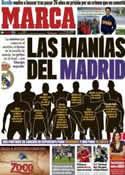 Portada diario Marca del 6 de Octubre de 2011