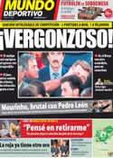 Portada Mundo Deportivo del 6 de Octubre de 2011