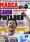 Portada diario Marca del 7 de Octubre de 2011