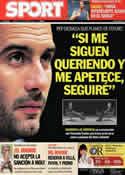 Portada diario Sport del 7 de Octubre de 2011