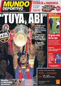 Portada Mundo Deportivo del 7 de Octubre de 2011