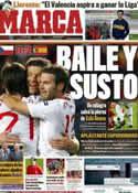 Portada diario Marca del 8 de Octubre de 2011