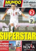 Portada Mundo Deportivo del 8 de Octubre de 2011