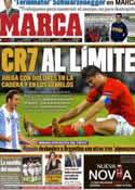 Portada diario Marca del 9 de Octubre de 2011