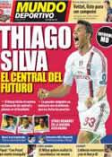 Portada Mundo Deportivo del 9 de Octubre de 2011