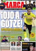 Portada diario Marca del 10 de Octubre de 2011