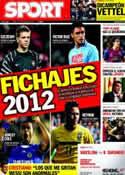 Portada diario Sport del 10 de Octubre de 2011