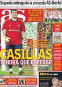 Portada diario AS del 11 de Octubre de 2011