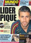Portada Mundo Deportivo del 11 de Octubre de 2011