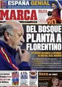 Portada diario Marca del 12 de Octubre de 2011