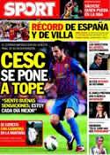 Portada diario Sport del 12 de Octubre de 2011