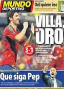 Portada Mundo Deportivo del 12 de Octubre de 2011