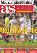 Portada diario AS del 13 de Octubre de 2011