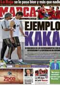Portada diario Marca del 13 de Octubre de 2011
