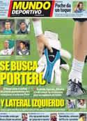 Portada Mundo Deportivo del 13 de Octubre de 2011
