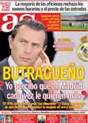 Portada diario AS del 14 de Octubre de 2011