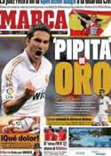 Portada diario Marca del 14 de Octubre de 2011