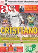 Portada diario AS del 15 de Octubre de 2011