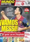 Portada Mundo Deportivo del 15 de Octubre de 2011