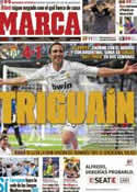 Portada diario Marca del 16 de Octubre de 2011