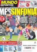 Portada Mundo Deportivo del 16 de Octubre de 2011