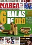 Portada diario Marca del 17 de Octubre de 2011