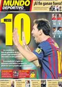Portada Mundo Deportivo del 17 de Octubre de 2011