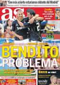 Portada diario AS del 18 de Octubre de 2011