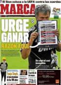 Portada diario Marca del 18 de Octubre de 2011
