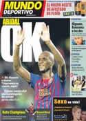 Portada Mundo Deportivo del 18 de Octubre de 2011
