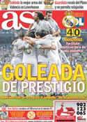 Portada diario AS del 19 de Octubre de 2011