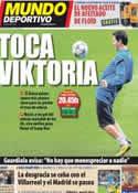 Portada Mundo Deportivo del 19 de Octubre de 2011