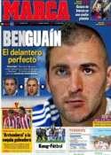 Portada diario Marca del 20 de Octubre de 2011