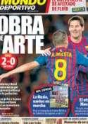 Portada Mundo Deportivo del 20 de Octubre de 2011