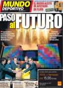 Portada Mundo Deportivo del 21 de Octubre de 2011