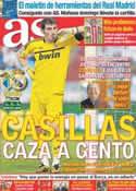 Portada diario AS del 22 de Octubre de 2011
