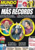 Portada Mundo Deportivo del 22 de Octubre de 2011