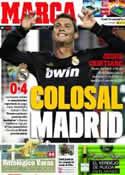 Portada diario Marca del 23 de Octubre de 2011