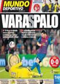 Portada Mundo Deportivo del 23 de Octubre de 2011