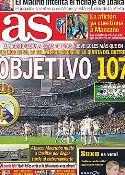 Portada diario AS del 25 de Octubre de 2011