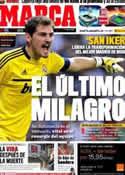 Portada diario Marca del 25 de Octubre de 2011