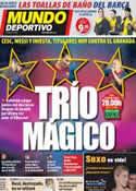Portada Mundo Deportivo del 25 de Octubre de 2011
