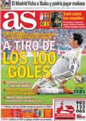 Portada diario AS del 26 de Octubre de 2011