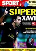 Portada diario Sport del 26 de Octubre de 2011